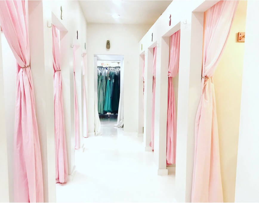 Photo of Violet's showroom