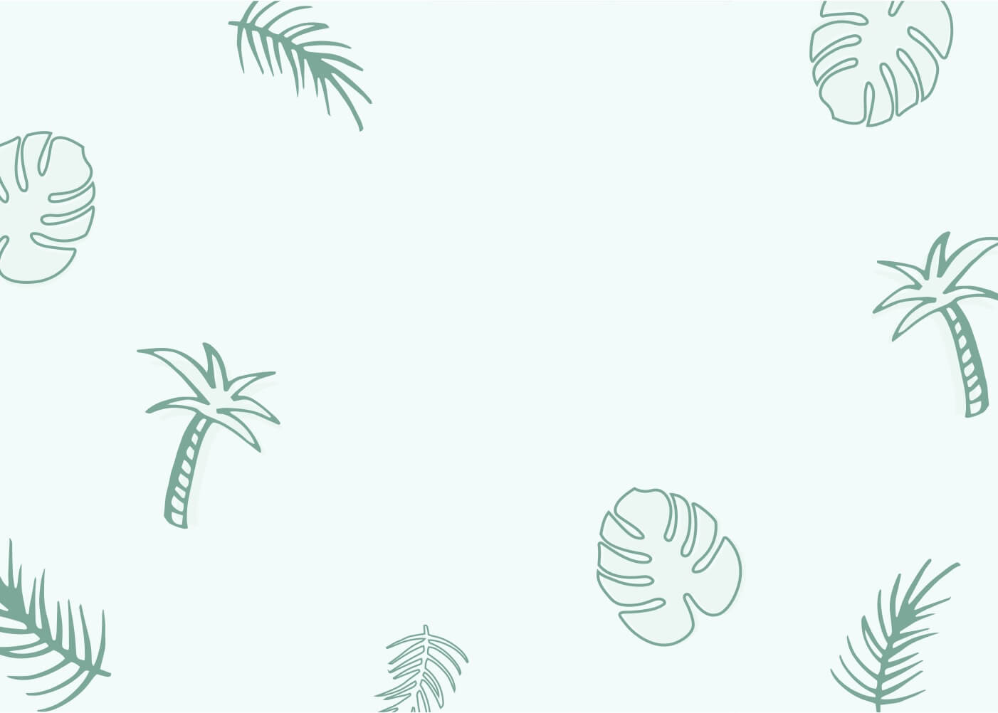 Plant print background