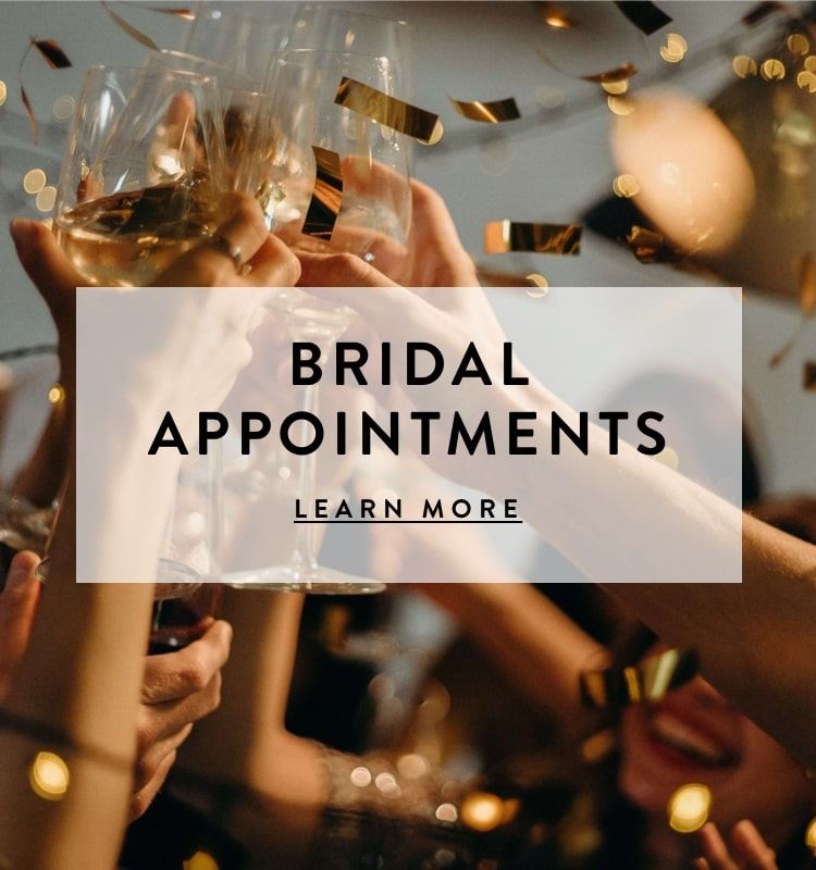 Bridal Appointments at Violet's Boutique. Mobile Image.